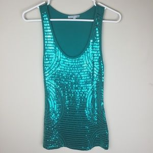 Charlotte Russe | Sequin Tank Top